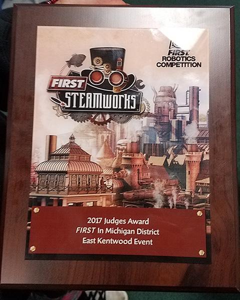 FRC Judges Award